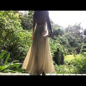 Reformation wedding dress size 1-2